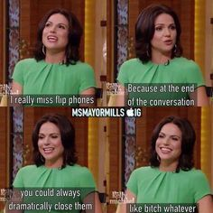 Awesome Lana on Kelly and Michael in NYC 2013
