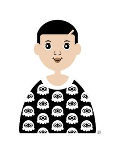 Boy 7 Art Print Boy in Black and White Shirt by Tabitha Brown Black And White Shirt, Boy Art, Game Art, Little Boys, African, Art Prints, Brown, Illustration, Fictional Characters