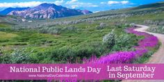 National Public Lands Day Last Saturday in September