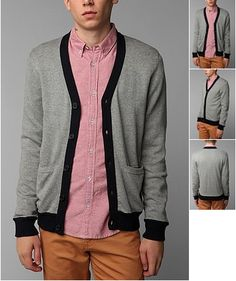 Hawkings McGill Colorblock Cardigan  $49.00 available at Urban Outiftters