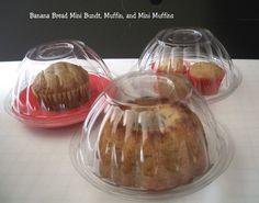 Bakery Plastic Bunt Cake Packaging