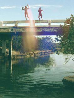 Summer Bridge Jumping