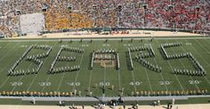Baylor Bears Golden Wave Marching Band