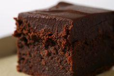 Chocolate mascarpone brownies