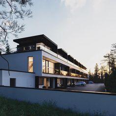 """154 kedvelés, 1 hozzászólás – Highclass Homes (@highclass_homes) Instagram-hozzászólása: """"Follow @lux.life.co - Skanna Kivi by Sigge Arkkitehdit in Naantalin,Finland.(2018)…"""""""
