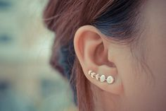 These moon-phase earrings: | 29 Celestial Accessories You'll Be Over The Moon For