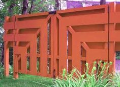 fence - love it Modern Ranch, Mid-century Modern, Mcm House, Outdoor Projects, Outdoor Ideas, Outdoor Retreat, Modern Style Homes, Fence Ideas, Gate Ideas