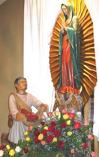 Our Lady of Guadalupe appears to Juan Diego