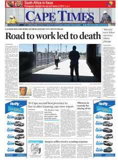 News making headlines: Road to work led to death