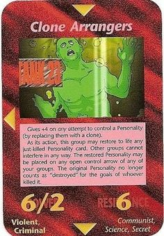 Illuminati Card Game - Clone Arranger