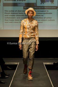 Floyd Avenue - Soweto Fashion Week A/W 2014 #menswear #millinery #streetwear Young Fashion, Male Fashion, Streetwear, Menswear, Hipster, Fashion Design, Collection, Style, Moda Masculina