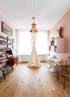 Retromantisch retro blog - Interior inspiration nude copper interieur koper romantisch vt wonen tipi vintage