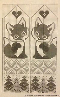 This Pin was discovered by Юли Filet Crochet, Crochet Chart, Knit Crochet, Knitting Charts, Knitting Stitches, Baby Knitting, Knitting Patterns, Knitted Mittens Pattern, Counted Cross Stitches