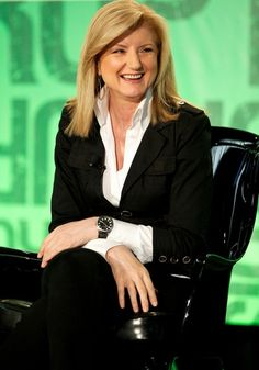 Arianna Huffington, founder of Huffington Post
