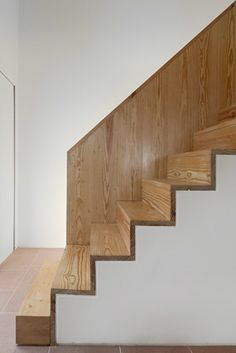 Nice Stair Detail- Casa no Montijo in Portugal by Paolo Tormento Pinto. Photo by Fernando Guerra.