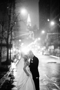 The perfect New York moment | New York City Wedding at the Gramercy Park Hotel from Robert & Kathleen Photographers  Read more - http://www.stylemepretty.com/new-york-weddings/2013/11/07/new-york-city-wedding-at-the-gramercy-park-hotel-from-robert-kathleen-photographers/