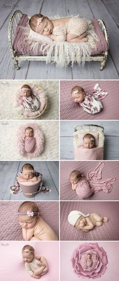 9 day old Charlotte and her pretty pink studio newborn photo shoot with Sunny S-H Photography Winnipeg Newborn Bebe, Foto Newborn, Newborn Posing, Newborn Shoot, Newborn Photo Props, Baby Girl Newborn, Newborn Outfits, Boy Outfits, Newborn Photography Poses