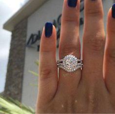 10K White Gold 1.50 Ct Women's Diamond Engagement Bridal Ring Wedding Band Set | Jewelry & Watches, Engagement & Wedding, Engagement/Wedding Ring Sets | eBay!