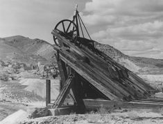 Nevada was once home to the second-deepest mine shaft in the world