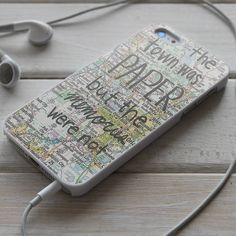 Paper Towns John Green Quotes - iPhone 4/4S, iPhone 5/5S/5C, iPhone 6 Case, Samsung Galaxy S4/S5 Case - Shadeyou Phone Cases