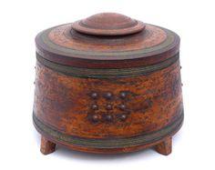 Jason Wason Ceramic Boxes, Ceramic Jars, Ceramic Clay, Ceramic Pottery, Pottery Art, Pottery Sculpture, Sculpture Clay, Clay Box, Raku Kiln