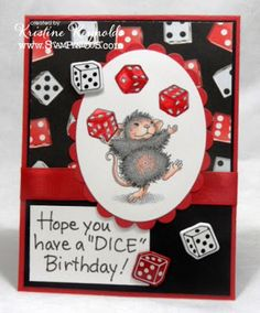 Stamping & Scrapping in California: Birthday Mice