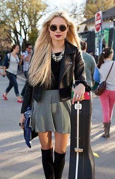 SXSW street style - Singer/songwriter Nina Nesbitt