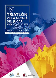 Poster for Triatlon Alcalá, Spain 2017