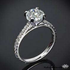 elena- diamond engagemnt ring - My Engagement Ring