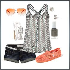 my shorts would be longer - Untitled #139, created by bstowe87 on Polyvore