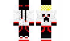 minecraft skin Cool-Ender-Red