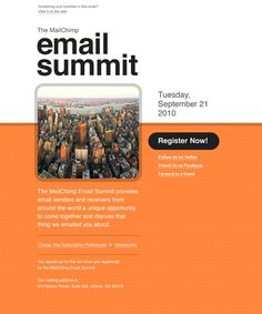 1000 images about email on pinterest email newsletter for Mailchimp calendar template