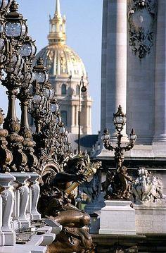 Eglise du Dôme ; Hôtel des Invalides ; Pont Alexandre III