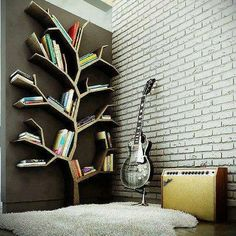 I wouldn't have enough room for my books but this is really cool