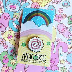 Super cute customer photo of our #narutomaki pin! 😍🍥🍥🍥 #Repost @sami_spoon ・・・ So in love with my narutomaki pin by @magic_circle 💖🍥 #pingame #pins #enamelpin #kawaii #kawaiifashion #glitter #design #cute #cutestuff #myunicornlife #pasteldaily #🍥 #food #Japanese #japanesefood #anime
