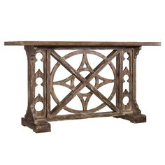 Totally love this Hampden Console Table from the Antiqued Elegance (Joss & Main)
