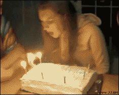 Funny Stuffs: Birthday Cake Knockout
