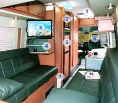 Sportsmobile, Sprinter LB - pic from the back door. Love it, though I think I would want a platform bed instead of a dinette.