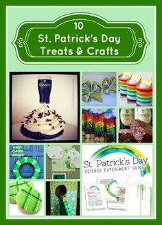 10 St. Patty's Day Treats & Crafts
