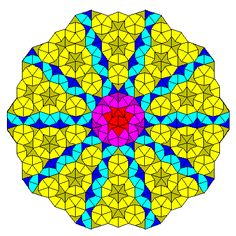 A 'pure' Penrose tiling, an aperiodic tiling of great beauty