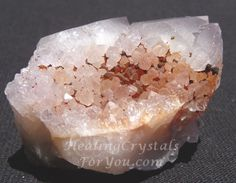 Spirit Quartz -I have just received one this week & the energy is amazing -Makes me a little dizzy if I hold it for a few moments but I look forward to adjusting to the vibration!