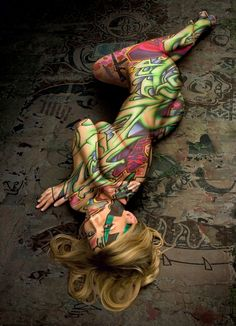 painted body art