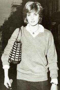 Princess Diana - 1980. Image/Date Uncredited.