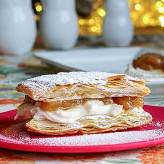 The Yum Yum Factor: Riesling Apple Brown Butter Ricotta Napoleons