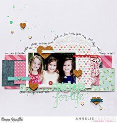Layout: friends for life - Cocoa Vanilla Studio