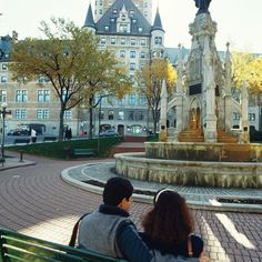 In Quebec City, even the hotels have history.