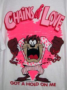 Vintage Looney Tunes Taz Tazmanian Devil T-Shirt Mint by BCAVINTAGE on Etsy