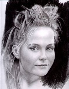 Graphite Pencil drawing by Brian Scott