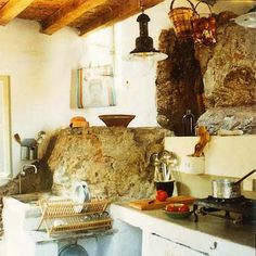 French Countryside kitchen.