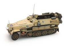 Sd.Kfz 251/1B Afrika Korps, 1:87 hand painted.